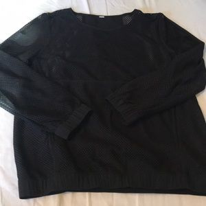 Lululemon mesh long sleeve